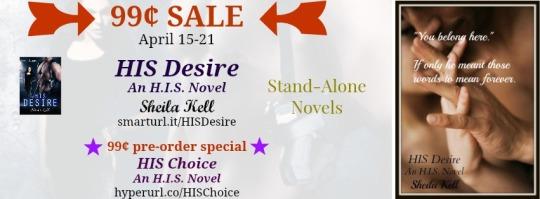 HIS Desire sale FB banner